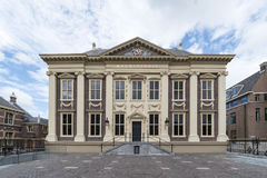 Mauritshuis Museum. Hosting most of the painting of the Dutch Golden age, located at The Hague, Netherlands Royalty Free Stock Image