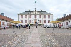 Mauritzbergkasteel, Zweden Royalty-vrije Stock Foto's