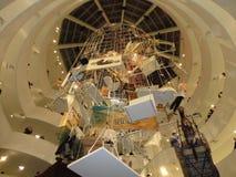 Maurizio Cattelan: Alla på Guggenheimen NYC 27 Arkivfoto