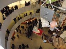 Maurizio Cattelan: Alla på Guggenheimen NYC 61 Fotografering för Bildbyråer
