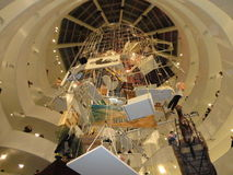 Maurizio Cattelan: Tutti al Guggenheim NYC 27 Fotografia Stock