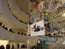 Maurizio Cattelan: Tutti al Guggenheim NYC 87 Fotografia Stock Libera da Diritti