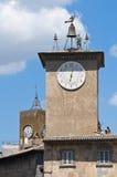 Maurizio's tower. Orvieto. Umbria. Italy. Royalty Free Stock Image