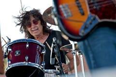 Mauro Magellan no festival dos azuis da área de Marquette Foto de Stock Royalty Free