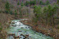 Maury河,弗吉尼亚,美国- 4 免版税库存图片