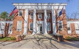 Maury Hall an UVA Lizenzfreies Stockbild