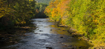 "Maury River †""Goshen, Virginia, USA Royaltyfria Bilder"