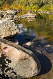 "Maury River-†""Goshen-Durchlauf, Virginia, USA Stockfotografie"