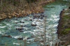 Maury River Virginia, USA - 2 arkivbild