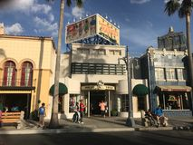 Maus über Stadt, Hollywood-Studios lizenzfreies stockbild