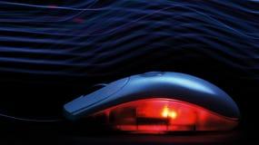 Maus in der Dunkelheit Lizenzfreie Stockfotos