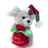 Maus der frohen Weihnachten Lizenzfreies Stockfoto