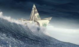 Maus momentos no negócio Meios mistos imagem de stock royalty free