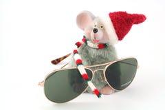 Maus und Gläser Stockfotos