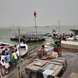 Mausam in Varanasi stock foto