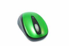 Mause verde do computador imagem de stock