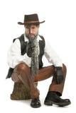 mauser человека Стоковые Фото
