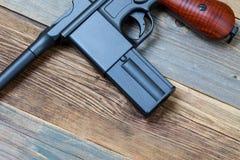 Mauser pistol gun Royalty Free Stock Image