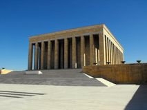 Mausolée d'Ataturk à Ankara, Turquie Image stock