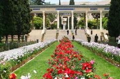 Mausolée de Hafez à Chiraz Photos libres de droits