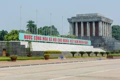 Mausolée de Ho Chi Minh à Hanoï images stock