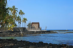 Mausolée de redevance hawaïenne Images libres de droits
