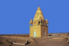 Mausolée de Sufi à Omdurman Image stock