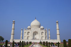 Mausolée de Taj Mahal à Agra, Inde Images libres de droits