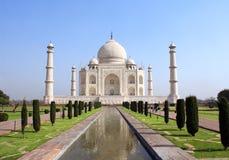 Mausolée de Taj Mahal, Âgrâ, Inde Image libre de droits