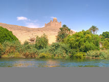 mausolée khan de l'Egypte d'agha Images libres de droits