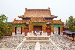 Mausolée oriental de Yu de paysage de Qing Mausoleums (Qian longtemps) images libres de droits