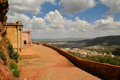 Mausolée sur Cerro de la Bufa, Zacatecas, Mexique Photo libre de droits