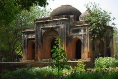 Mausoléu com três portas, parque de Lodhi, Deli Foto de Stock