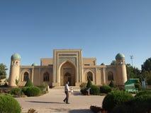 Mausoléu de Al-Hakim al-Termezi, Usbequistão Imagem de Stock