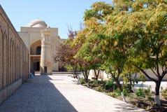 Mausoléu de Bahauddin Naqshbandi em Bukhara imagens de stock