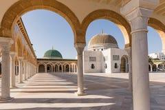 Mausoléu de Habib Bourguiba - primeiro presidente de Tunísia Monastir, Tunísia Imagem de Stock