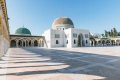 Mausoléu de Habib Bourguiba - primeiro presidente de Tunísia Monastir, Tunísia Fotografia de Stock