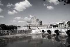 Mausoléu de Hadrian Foto de Stock Royalty Free