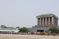 Mausoléu de Ho Chi Minh Foto de Stock Royalty Free