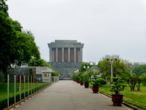 Mausoléu de Ho Chi Minh imagem de stock royalty free