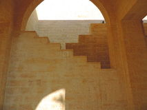 Mausoléu de Jafar al-Tayyar em Jordânia imagem de stock