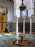 Mausoléu de Meknes imagens de stock