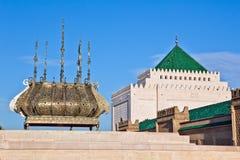 Mausoléu de Mohammed V Foto de Stock Royalty Free