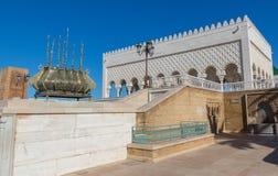 Mausoléu de Mohammed V em Rabat Fotografia de Stock Royalty Free