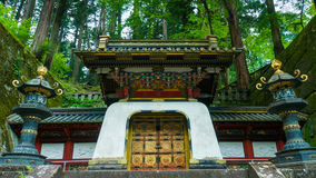 Mausoléu de Tokugawa Iemitsu fotografia de stock