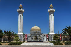 Mausoléu de Tunísia Bourguiba imagens de stock
