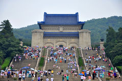 Mausoléu do Dr. Sun Yat-sen Fotografia de Stock Royalty Free