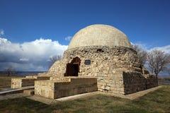 Mausoléu do norte na búlgara foto de stock