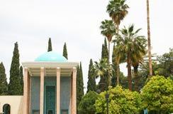 Mausoléu do parque de Saadi em Shiraz Fotos de Stock