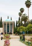 Mausoléu do parque de Saadi em Shiraz Fotografia de Stock Royalty Free